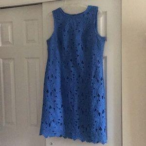 Blue Ann Taylor Dress